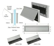 Crl Satin Anodized 3 X 11-1/2and8221 No-draft Mail Slot - New Style