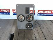 Kenworth Dash Panel Cover W/ 3 Gauges And Rocker Switch P/n A22-38910-000