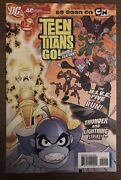 Teen Titans Go 40 First Printing 2007 Dc Comic Book Hive, Thunder And Lighting