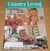 Country Living Magazine April 1992 Antiques Heaven New Jerseyhudson Valley Farm