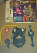 Real Ghostbusters Proton Pack Near Complete Set Kenner Moldy Box