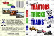 Discovering Tractors Trucks And Trains Dvd For Kids