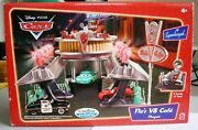 Disney Pixar Cars - Floand039s V8 Cafe - Toys R Us Exclusive - Supercharged - Mint