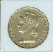 1915 Escudo Portugal Appears Almost Uncirculated Very Nice.............
