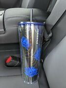 New - Vhtf - Starbucks Fall 2020 Blue Rose Tumbler Cold Cup Venti - Sold Out