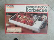 Maverick D-3800 Electric Barbecue Grill, Ventless Indoor Bbq- Very Rare .