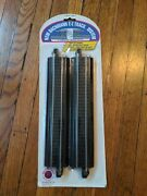 Bachmann 44411 Ho Steel Ez 9 Straight Track Pack Of 4 - Nos.