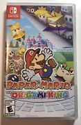 Paper Mario The Origami King Game For Nintendo Switch -brand New