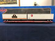 Atlas O Providence And Worcester 89'4 Flat Car W/ 2 45' Pine Trailers 6972-1