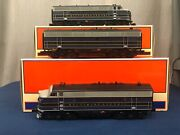 Lionel Baltimore And Ohio F3 Aba Diesel Set 6-14565 6-14558 Odyssey And Railsounds