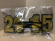 2015 New Years Eve Novelty Glasses Class Of 2015 Graduation Victory Throwback