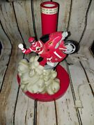 1994 Vintage Mighty Morphin Power Rangers Red Ranger Bed Side Lamp Collectible