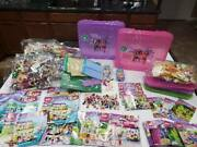 Lego Friends Huge Lot Dolphin Cruiser 41015 Beach House 41037 41008 41035 And More