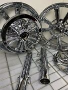 2018 -2019 Rims Indian Scout Bobber Chrome Wheels Pulley Fork Rotors Exchange