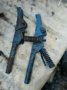 Ford Tractor Nos Cultivator Spring Trip Shanks 15255d. Or 15524ba 1-3/8 Diameter