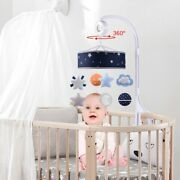 20xbaby Musical Crib Mobile Space Theme Infant Bed Decoration Toy