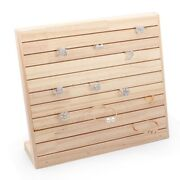 20xlog Stand Solid Wood Display Tray Jewelry Stand Jewelry Display