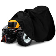 10xoutdoor Lawn Mower Cover-tractor Cover Fits Up To 54 Inches Deck 420d Lawn