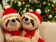 Pier 1 Imports Christmas Scully The Sloth Stuffed Plush Animal Sold Out Rare