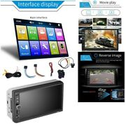 20x7inch Double 2 Din Car Mp5 Player Bluetooth Press Screen