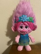 """Trolls World Tour Color Poppin Poppy Fashion Doll Sings Lights Ages 3+ 12.5"""""""