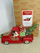 Jim Shore Country Roads Lead To Christmas Country Living 6007443 Santa's Truck