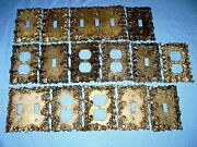 15 Ornate Floral Brass Charm N Style Electrical Outlet Light Switch Plate Covers