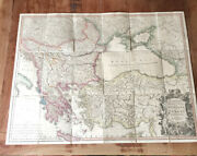Rare Antique Map William Faden The Ottomans Or Turkey In Europe 1820 With Case