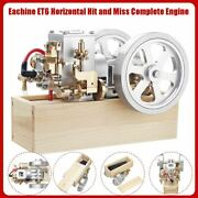 Et6 Horizontal Hit And Miss Complete Engine Model Stem Upgrade Gas Engine Mini T