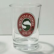 Deschutes Brewery Bend Or Tasting Glass 4oz 3 1/4 Tall