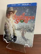 A Christmas Story Steelbook Blu-ray+dvd, 2013, 30th Anniversary Factory Sealed