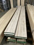 8 Pack Of 1-1/4 Hardwood Trailer Flooring In 12and039 Sections. Free S/h Available.