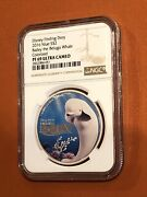 2016 Niue S2 Disney Finding Dory Bailey The Beluga Whale Colorized Ngc Pf69 Uc