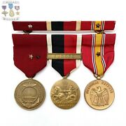 Cold War Navy Medal Group Good Conduct Europe Occupation National Defense Ribbon
