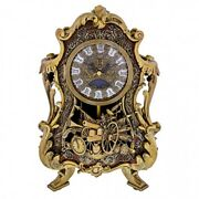 Beauty And The Beast Live Action Film Figure Cogsworth Clock Limited Edition