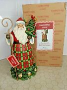 Jim Shore Have Yourself A Country Christmas 6007446 - Santa With Tree