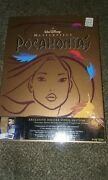 New And Sealed Walt Disney Masterpiece Pocahontas Vhs Deluxe Video Edition Box Set