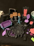 Monster High Furniture Lot And Accessories Pet House