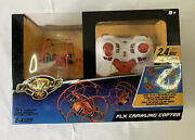 Rare Toys And039rand039 Us Fastlane Flx Crawling Copter Helicopter Rc Remote Control New