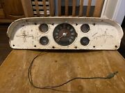1957 58 59 60 Ford Pickup F100 Truck Speedometer Instrument Cluster
