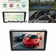 Fit For Peugeot 307 9 Android10.1 Car Stereo Radio Gps Navi Wifi Bt Mp5 Player