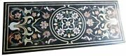 60 Marble Dining Table Top Inlay Rare Semi Antique Center Coffee Table Ar0339