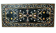 60 Marble Dining Table Top Inlay Rare Semi Antique Center Coffee Table Ar0340