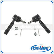 2x Tie Rod End For 2006-2013 Chevrolet Impala Front Outer