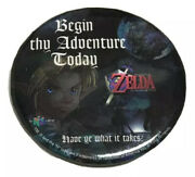 Vtg The Legend Of Zelda Ocarina Of Time Pin Nintendo 64 Video Game Collectible