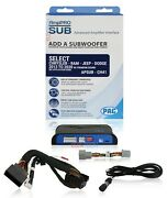 Pac Apsub-ch41 Amppro Sub Advanced Amplifier Interface To Add Aftermarket Woofer