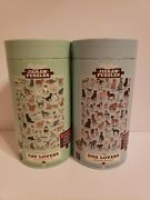 2 Ridley's 500 Piece Jigsaw Puzzles The Dog And Cat Lover's Puzzle Nib