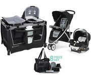 Stroller With Car Seat Chicco Baby Trend Playard Diaper Bag Combo Travel System
