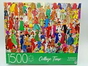 Mb 1500 Piece Jigsaw Puzzle - 32x24 Collage Time - Fashion Memories