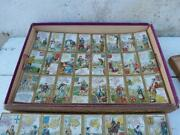 Vintage Antique 1889 Old French Victorian Atlas Jigsaw Puzzle /antique Game/toy/